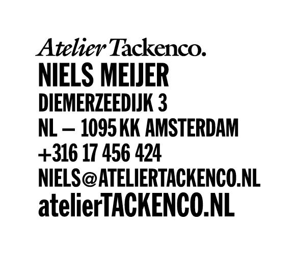 Atelier Tackenco.