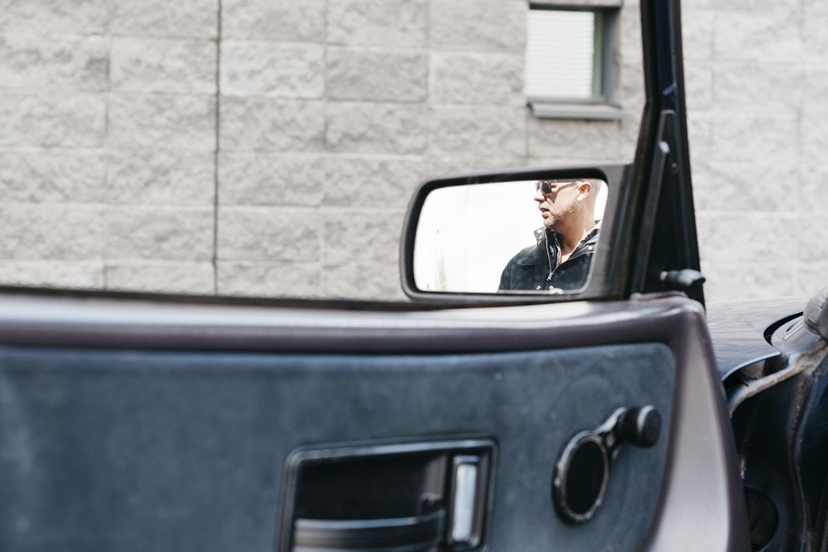 Nils Saab mirror